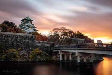 .:Osaka Castle I:. by RHCheng