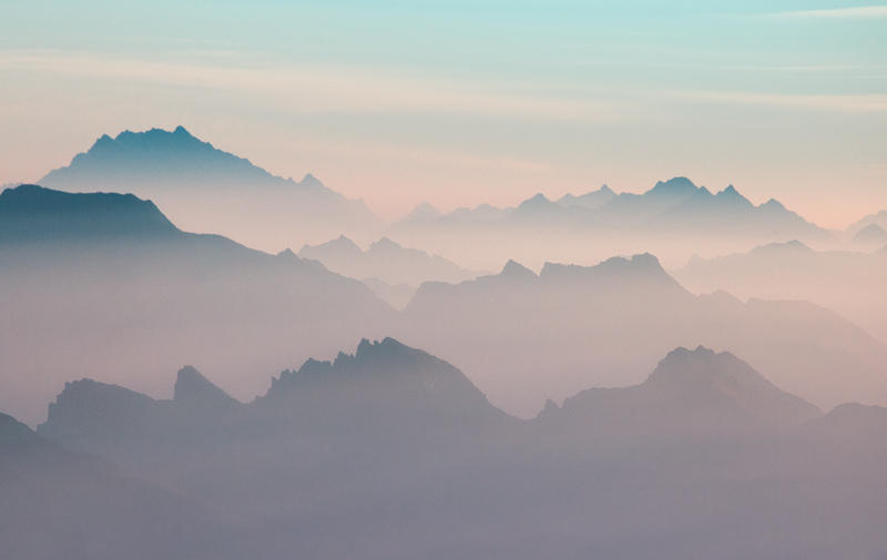Mountains Dream Too by RobertoBertero