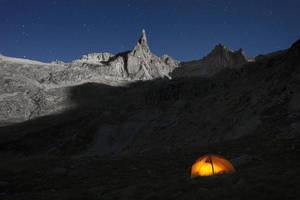 Moonlit Landscape by RobertoBertero