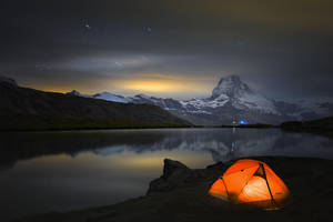 A Night by the Lake by RobertoBertero