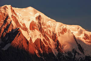 Mont Blanc at Sunrise by RobertoBertero