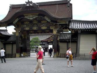 Nijo Castle Entrance by DavidinJapan