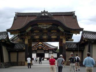 Nijo Castle Entrance - Again by DavidinJapan