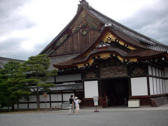 Nijo Castle - House Entrance by DavidinJapan