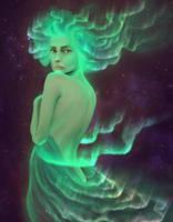 Lady of Northern Lights by seancruz