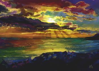 Sunset by hugkiss