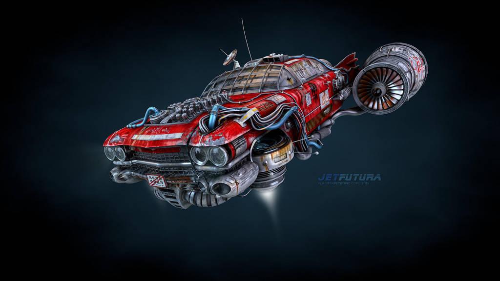 Jet Futura 04 by lovelessdevotions