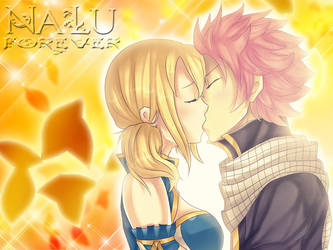 Natsu x Lucy Forever! Wallpaper by ezrajeen