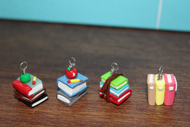 Book charms by Cutenessrelated