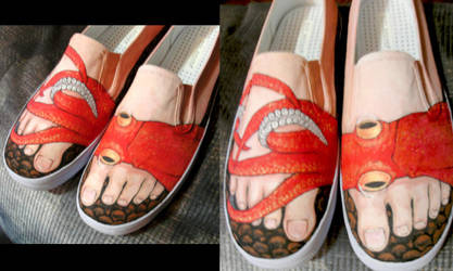 Squid Shoes 2 by Banvivirie