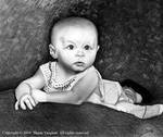 Pencil Baby portrait by spvaughan