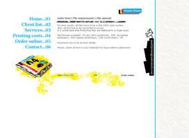 Printshop Website template by monstara