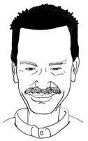 Steven Sullivan cartoon by monstara
