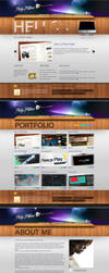Marvelous Personal Portfolio by PsdThemes