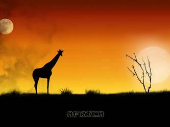 africa by PupsiMac