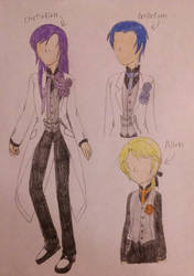 Sinners' Crazy Night Routine ~Male~ by TomboyJessie13