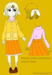 EC Winter Wear - Riliane Lucifen d'Autriche by TomboyJessie13