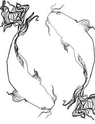 Koi yin yang WIP by cadi08