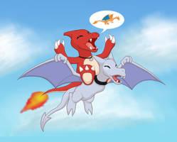 .: One day, I will fly :. by Memiz