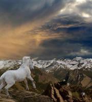 The Last Unicorn by AtlanticWolf