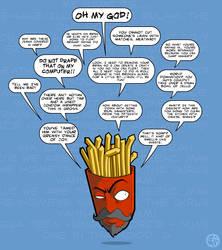 Fry-man by grimcinder