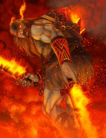 Surtr by chamakoso