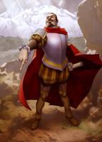 Don Pedro de Valdivia by chamakoso