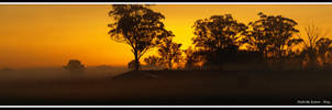 Sunrise Panorama by FireflyPhotosAust