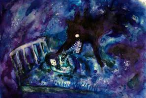 Wolf comes by muhvu