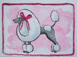 Pretty in Pink ACEO by Pannya
