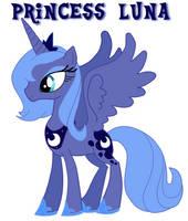 Princess Luna by fallentng