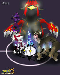 My Pokemon Ultra Sun Team by Manu125