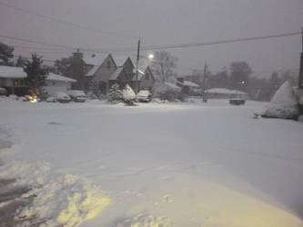 Snow, snow everywhere by 4chocolatemew