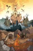 By the Bonfire by Esclair-Studios