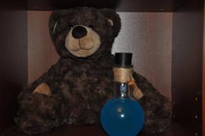 Teddy bear potion! From Kyrandia. by Almitatam