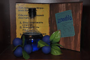 Indigo Potion from Kyrandia by Almitatam