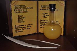 Yellow Potion from Kyrandia by Almitatam