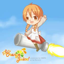 100% Orange Juice Marc-ing Entrance~! by KarraKon