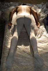 Plaster Body Cast 1 by strangehobbies