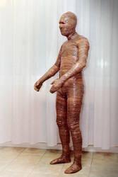Brown tape suit 2 by strangehobbies