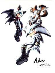 I wanna fly by ashen0507