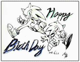 Happy birthday by ashen0507