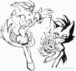 blaze doodle by ashen0507