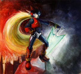 Megaman Zero by ashen0507