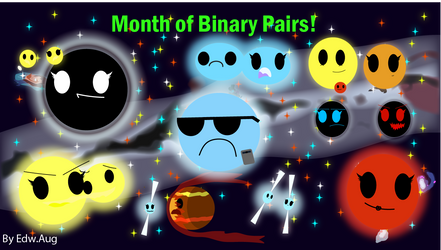 Month of Binary Pairs! by Edu1806031122