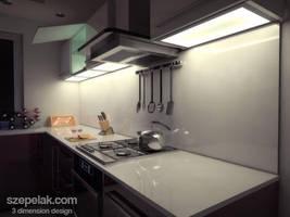 Kitchen - interior design by szepelak