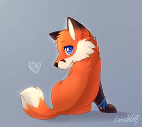 Commisson| Orion the fox by LaivaWolf