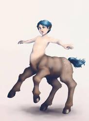 A Handful of Little Centaur by trowicia