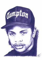 Eazy E Pencil Sketch by DJMark563