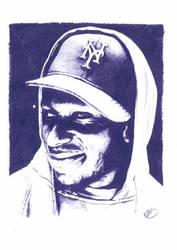 Mos Def Pencil Sketch by DJMark563